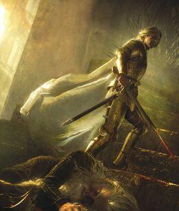 Jaime mata a Aerys by Michael Komarck©