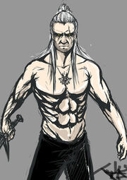 Geralt of rivia by kielsambajon-d687l4k