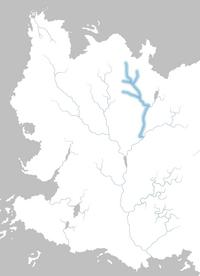 Mapa río Torrentenegro