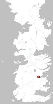 Mapa Desembarco del Rey