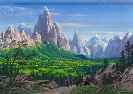 The Vale of Arryn by Ted Nasmith©