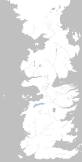 Mapa río Piedra Caída