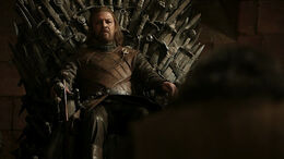 Eddard como Mano HBO