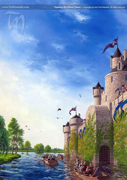 Passing the Wheel Tower by Ted Nasmith©