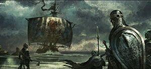 Greyjoys by Tomasz Jedruzek, Fantasy Flight Games©