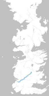 Mapa río Mander