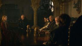 Tywin Mano Consejo HBO