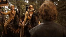 Dornienses llegan a Desembarco del Rey HBO