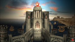 Temple of the Lord of Light Braavos HBO
