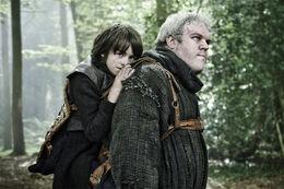 Hodor y Bran HBO
