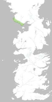 Mapa Costa Helada