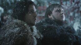Jon y Sam juramento HBO