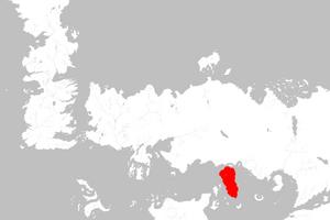 Mapa Gran Moraq