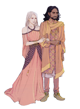 Maron and Daenerys Martell by nami64©