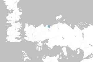 Mapa Bahía de los Colmillos