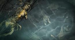 Niño del Bosque mira a los ahogados por el martillo de las aguas HBO