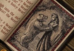 El oso y la doncella by Amoka©