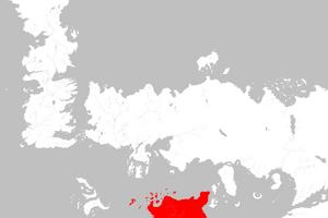 Mapa Sothoryos