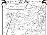 Danza de Dragones-Mapa El Sur