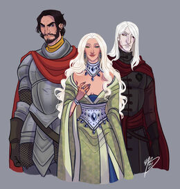 Bittersteel, Shiera Seastar and Bloodraven by Naomi©