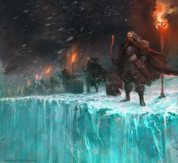Garrison at the Wall by Antonio José Manzanedo, Fantasy Fligth Games©