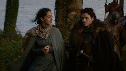 Robb y Talisa viajan HBO