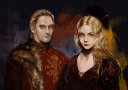 Tywin and Joanna Lannister by Bella Bergolts©
