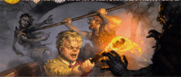 Tyrion contra los Hombres de Piedra by Lukasz Jaskolski, Fantasy Flight Games©