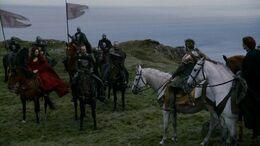 Negociación de Renly y Stannis