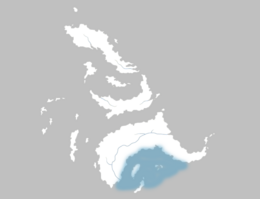 Mapa Bahía Loro