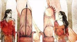 Mors Martell y Nymeria Príncipes de Dorne HBO