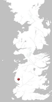 Mapa Lago Rojo