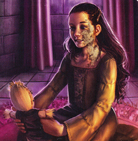 Archivo:Shireen Baratheon by Sara Biddle, Fantasy Flight Games©.jpg