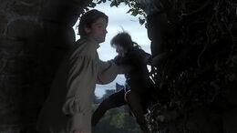 Jaime empuja a Bran HBO