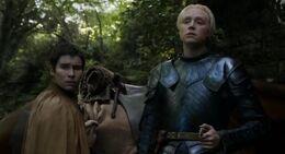 Brienne y Podrick HBO