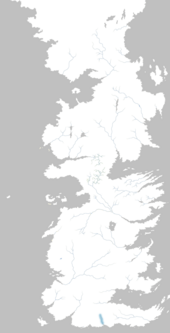 Mapa río Azufre
