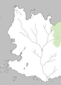 Mapa Bosque de Qohor