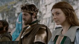 Renly Baratheon y Margaery Tyrell HBO