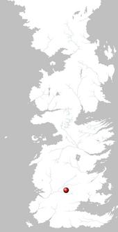 Mapa Vado Ceniza