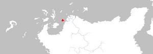 Mapa Isla de los Sapos
