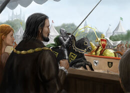 Game of Thrones Joust by Gordon Napier©