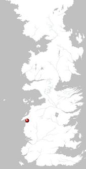 Mapa Roca Casterly