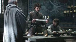 Robb y Theon inicio guerra HBO