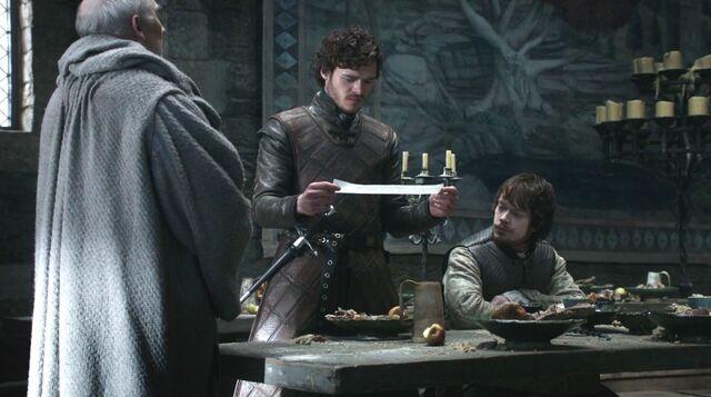 Archivo:Robb y Theon inicio guerra HBO.jpg