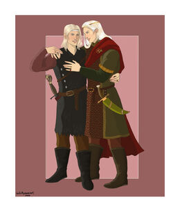 Aemon and Baelon Targaryen by Chillyravenart©