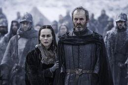 Stannis y Selyse HBO