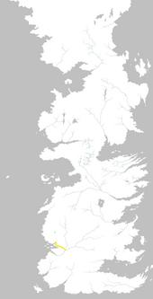 Mapa Camino del Océano