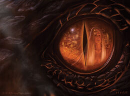 Dragon eye by Jake Murray, Fantasy Flight Games©