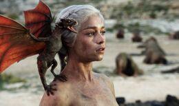 Daenerys Targaryen y Drogon