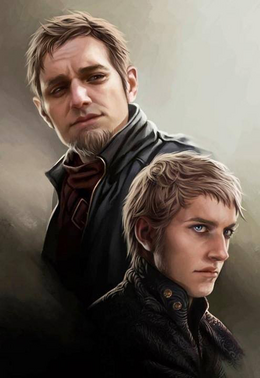 Tytos and Tywin Lannister by Magali Villeneuve©